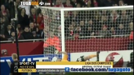 Героичен Арсенал премаза Милан на Емирейтс с 3:0,но отпадна от Шл !
