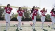"""Ангелите на """"Victoria's Secret"""" играят футбол"""
