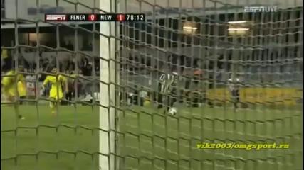 Newcastle United v Fenerbahce 1 - 1