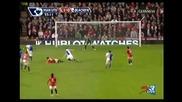 Изумителен Гол На Димитър Бербатов Манчестър Юнайтед - Блекбърн 2:0