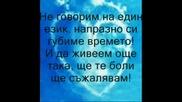 Vasilis Karas - Den Milame Idia Glossa ( превод)