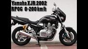 Yamaha Xjr 1300 0-200 km_h Acceleration