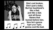 Lady Gaga - Alejandro (kareoke)