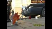 Кметът на Вилнюс в рекламна кампания с Бтр срещу неправилно паркиралите коли!