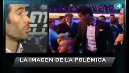 Гуардиола отказа пренебрежително поздрав на Роналдо
