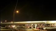 Подмяна на пътен надлез за точно за една нощ , Time lapse