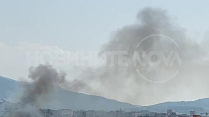 Пожар в София