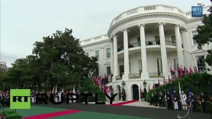 USA: 'We welcome the rise of China' - Obama at joint address with Xi Jinping
