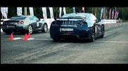Nissan Gt-r Ams Alpha 12 vs Bugatti Veyron Super Sport