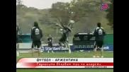 Подготовка На Аржентина Преди Мача С Парагвай