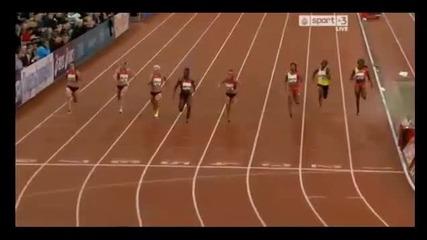 Ивет Лалова 100 метра