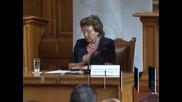 Кандидатите за членове на ВСС бяха изслушани в Народното събрание