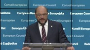 Belgium: Schulz urges EU-Turkey deal in line with international law