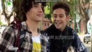 Soy Luna 2 -матео и Рамиро говорят за Фернанда+бг превод