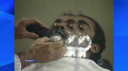 Смях в бръснарницата .. - Смешна Скрита Камера