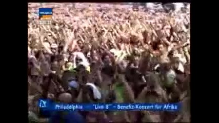 Linkin park in the end (live)
