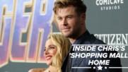 Chris Hemsworth unveils Australian mansion's interior