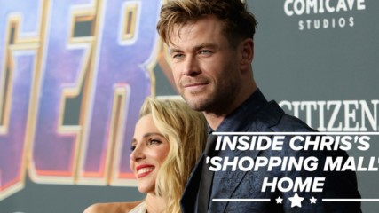 Chris Hemsworth unveils Australian mansion's interior