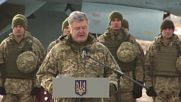 Ukraine: Poroshenko sends troops to 'important defensive regions' bordering Russia