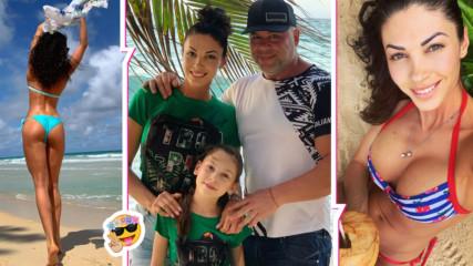 Биляна Йотовска заведе семейството си в рая! Впечатли с фит форма, а дъщеря ѝ - с дисциплина
