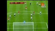 01.03 Манчестър Юнайтед - Тотнъм 0:0 Страхотен Шут На Рио Фърдинанд ! Карлинг Къп Финал