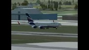 Fsx Il - 96 Moscow To London Flight