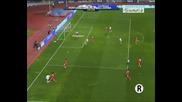 03.03.2010 Португалия 2 - 0 Китай Нани овладява и стреля