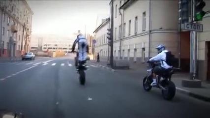 Моторист - пак в Русия