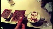 Какво е да пиеш кафе с портрети на Кубрат Пулев, Васил Левски, 2Pac, Мерилин Монро и др.!?