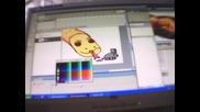 Как да нарисуваме Flash snake - змия