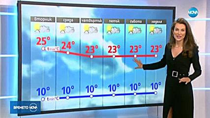 Прогноза за времето (14.10.2019 - централна емисия)