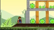 Chuck Norris vs Angry Birds