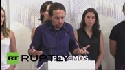 "Spain: Podemos leader Iglesias ""salutes and supports"" Jeremy Corbyn"