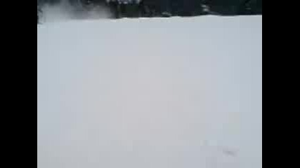 Скок със ски на Боровец
