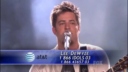 Lee Dewyze - Hallelujah (american Idol 9 - Top 3 - Judges choice)