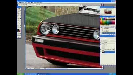 Photoshop Tuning - Golf 2