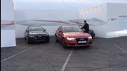 Audi със система за автономно паркиране