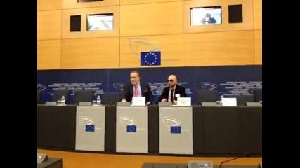 Big Sha Говори - Пресконференция Страсбург 23.10.2012
