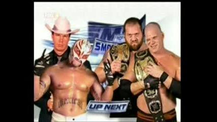 Jbl & Rey Mysterio vs. Kane & Big Show - Wwe Smackdown 02.12.2005
