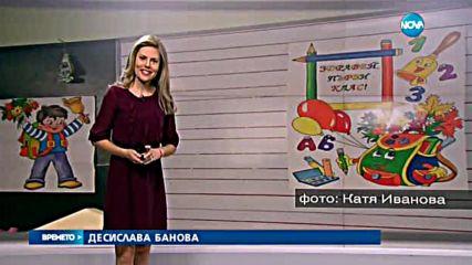Прогноза за времето (15.09.2016 - централна)