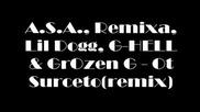 A.s.a.,  Remixa,  Lil Dogg,  G - Hell & Grozen - От сърцето