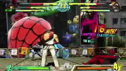 Marvel Vs Capcom 3 - E3 Gameplay 5