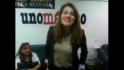 Alejandra Lazcano en unomásuno Televisión