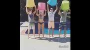 R5 - ice bucket challenge