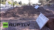 Greece: Nameless refugees buried at over-capacity Lesbos cemetery