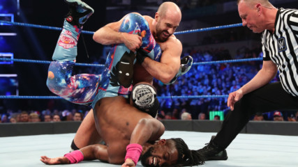 Kofi Kingston vs. Cesaro - Gauntlet Match Part 2: SmackDown LIVE, March 19, 2019