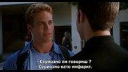 [1/2] Пол Уокър в '' Тя е върхът / She's All That ( 1999 )'' - със субтитри