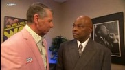 Smackdown 2009/09/04 Theodore Long & Mr. Mcmahon