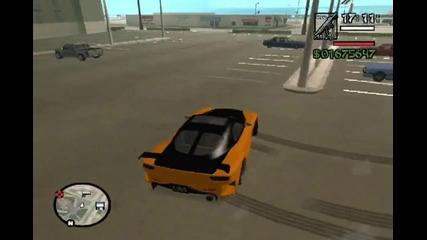 Gta San Andreas-drift с Mazda Rx7 Vielside (tokyo Car)