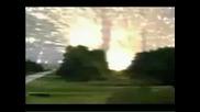 Ракета Се Взривява В Въздуха